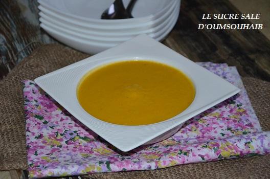 Delicieux Veloute De Potiron Le Sucre Sale D Oum Souhaib