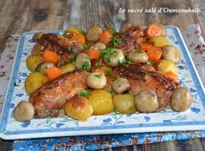 cuisse de poulet farcie 3