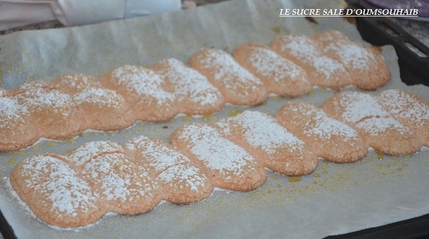 Biscuit à la cuillère de Mercotte