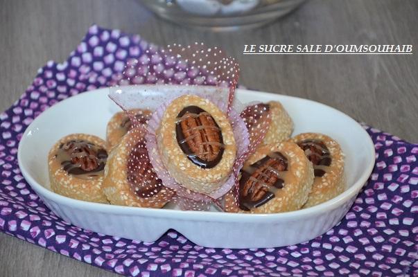 mini tartelette chocolat caramel beurre salé 1