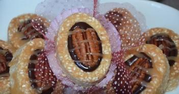 mini tartelette chocolat caramel beurre salé
