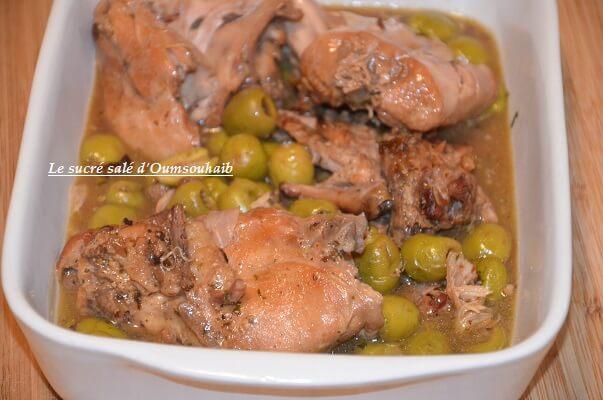 lapin en sauce sans vin - lapin sans vin - recette de lapin en cocotte minute - lapin en sauce moutarde -