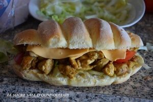 sandwich poulet curry 1