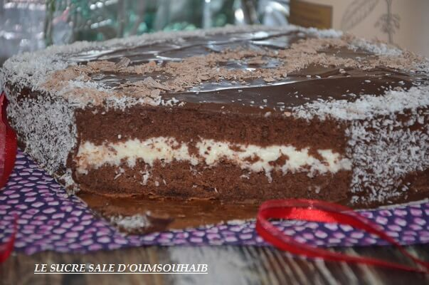 gâteau kinder géant