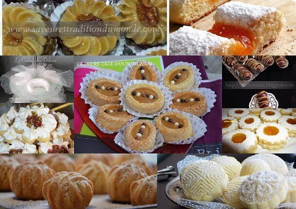 gâteaux algériens pour l\u0027aid 2018
