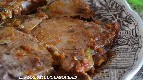 recette de thon rouge à la marocaine