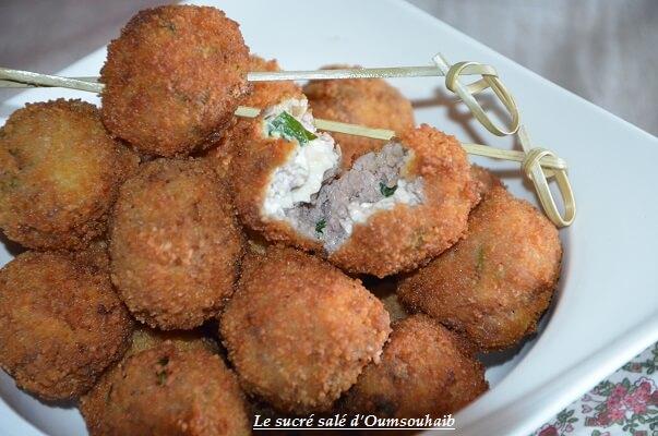 croquettes de viande farcies au fromage 7