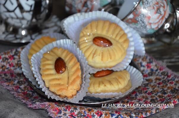 gâteaux algériens aux amandes pour fêtes
