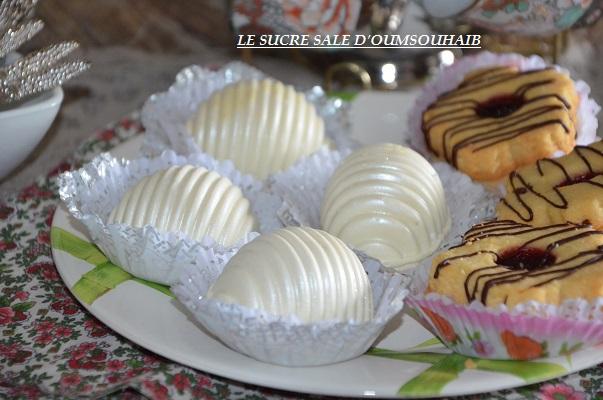 gâteaux samira au chocolat blanc