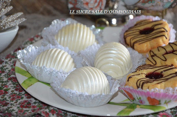 Gateau sec avec glacage chocolat