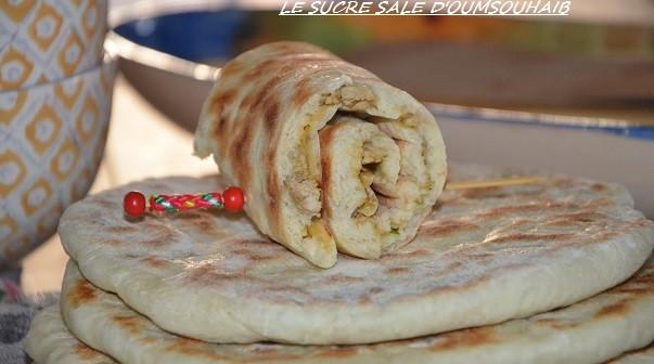 batbout-farci-au-poulet-tandoori-3