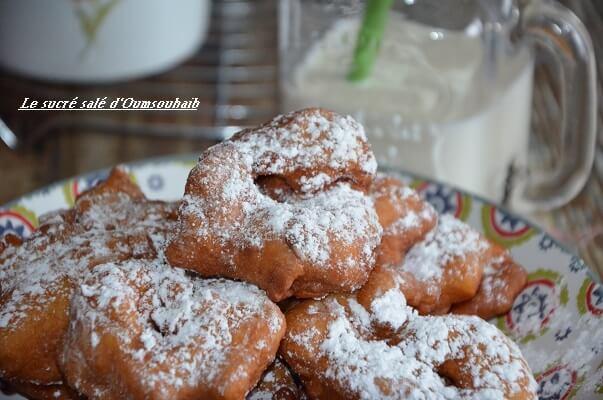 beignet polonais aux pommes