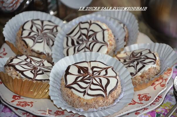 sablés au nestlé caramel et chocolat