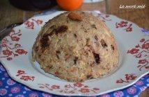 bowl cake compote de pomme et chocolat