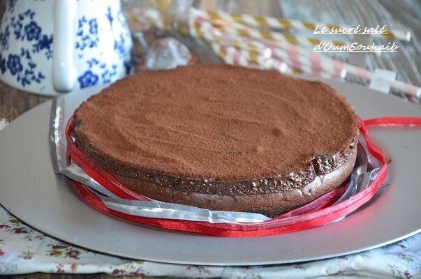 gâteau au chocolat de Mercotte 2