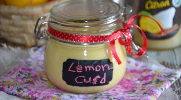 lemon curd de Christophe Michalak ( recette au pulco)
