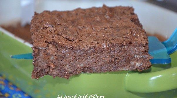 pudding au chocolat de Michalak (sans sucre)