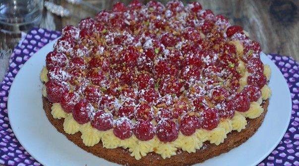 recette fond de tarte palet breton (aux framboises)