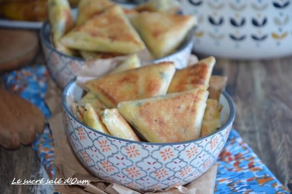 brick poulet curry crème fraiche 1