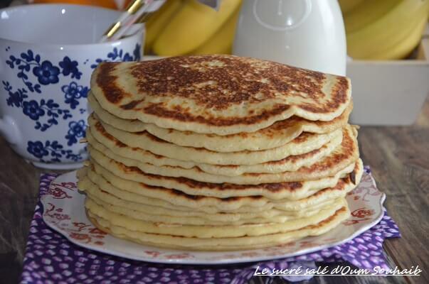 pancakes américains sans repos ( recette facile)