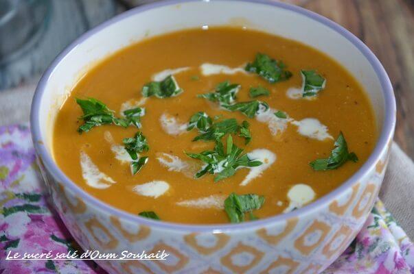 soupe de lentilles corail indienne 1