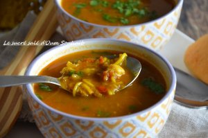 harira soupe marocaine vermicelle aux lentilles sans viande