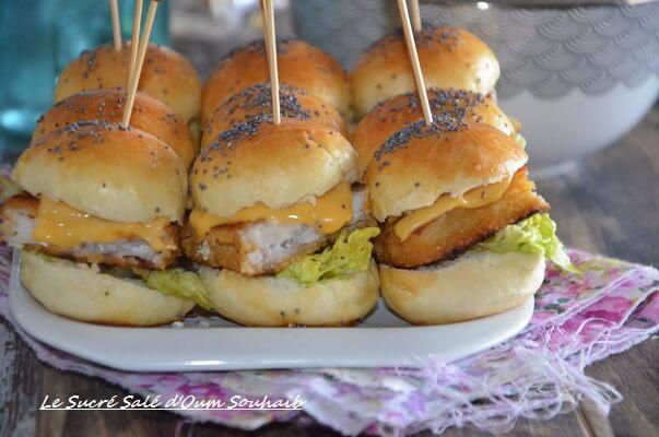 recette fish burger maison