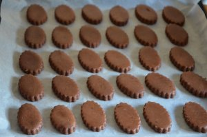 gateau sablé au cacao biscuit algérien pour l'aid
