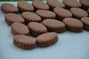 gâteau sablé au cacao et chocolat pour l'aid 5