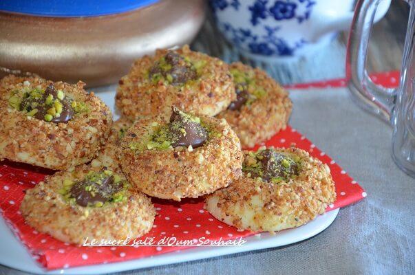 "sabl"" nutella facile recette sans oeuf"