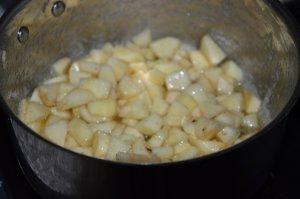tarte aux pommes compote vanillée 4