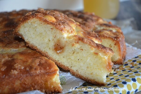 tarte au sucre vergeoise blonde briocge nord pas de calais moelleuse