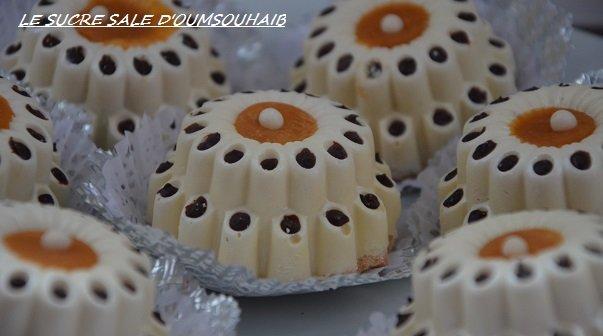 gâteau couronne chocolat blanc facile