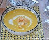 soupe de citrouille et pomme de terre