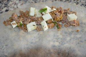 brick à la viande hachée et mozzarella 3