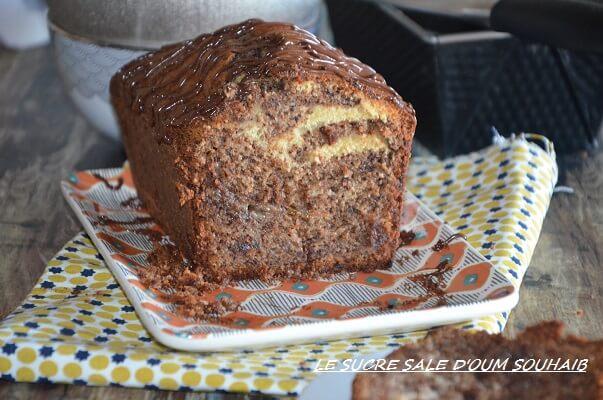 cake banane chocolat fondant et moelleux - cake chocolat banane moelleux fondant facile