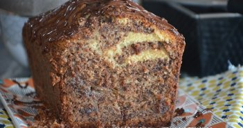 cake banane chocolat fondant et moelleux - cake chocolat banane moelleux - cake banane facile