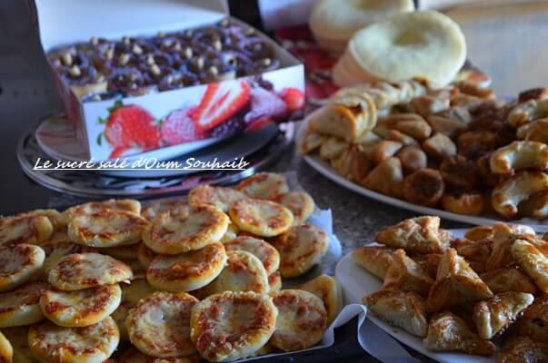 idée buffet salé