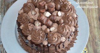 layer cake kinder bueno facile gâteau