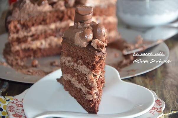 cake kinder bueno facile gâteau