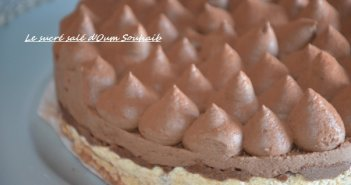 entremet chocolat croustillant praliné trianon royal