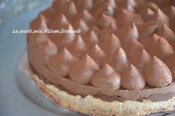 entremet chocolat croustillant praliné - trianon - royal