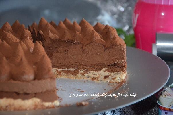 entremet chocolat croustillant praliné- trianon-royal- gateau chocolat croustillant