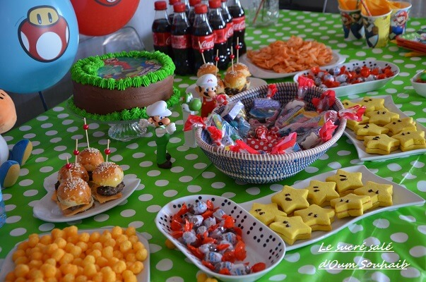 sweet table mario bross et luidgi 10