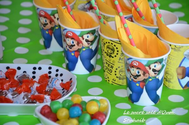 sweet table mario bross et luidgi 3