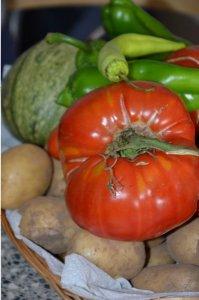 ojja ou chakchouka aux pommes de terre et merguez 3