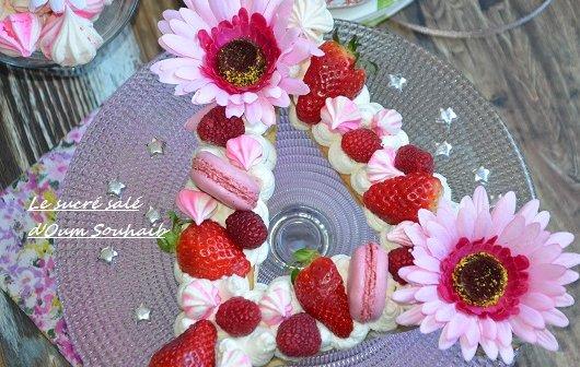 recette letter cake -gateau lettre