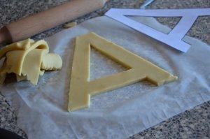 recette letter cake ou gâteau lettre 8