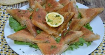 brick à la viande hachée et fromage recette marocaine