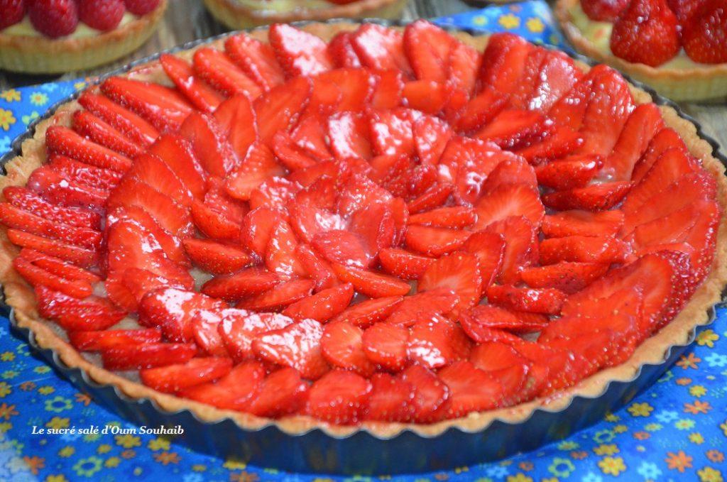 tarte-aux-fraises-et-creme-amande